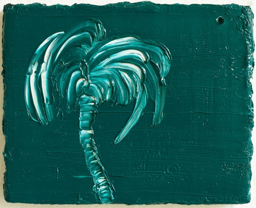 felix_becker_untitled (chromatic palm tree)_2018_oil on linen_25x20cm_web