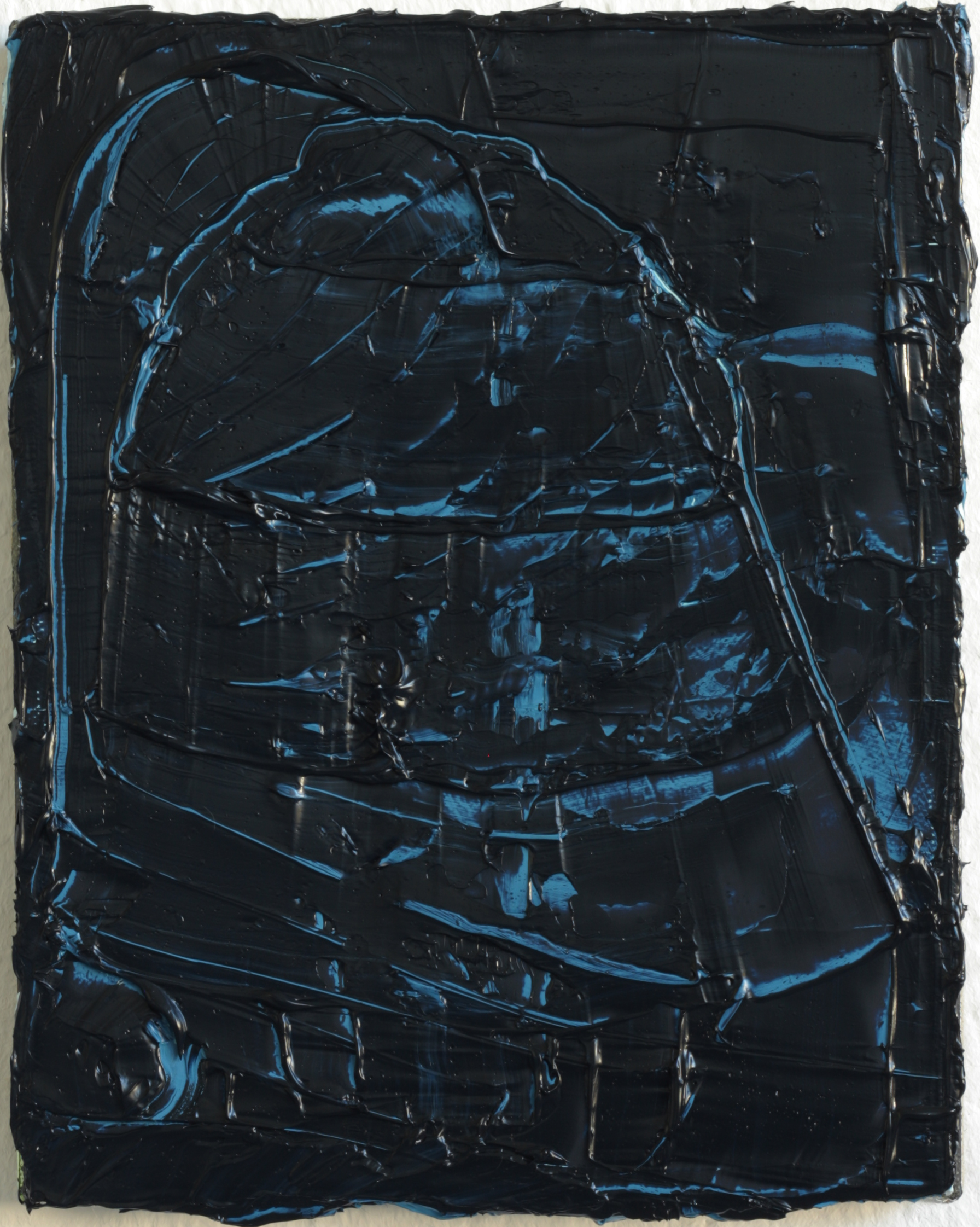 felix_becker_untitled (helmet)_2018_oil on linen_25x20cm