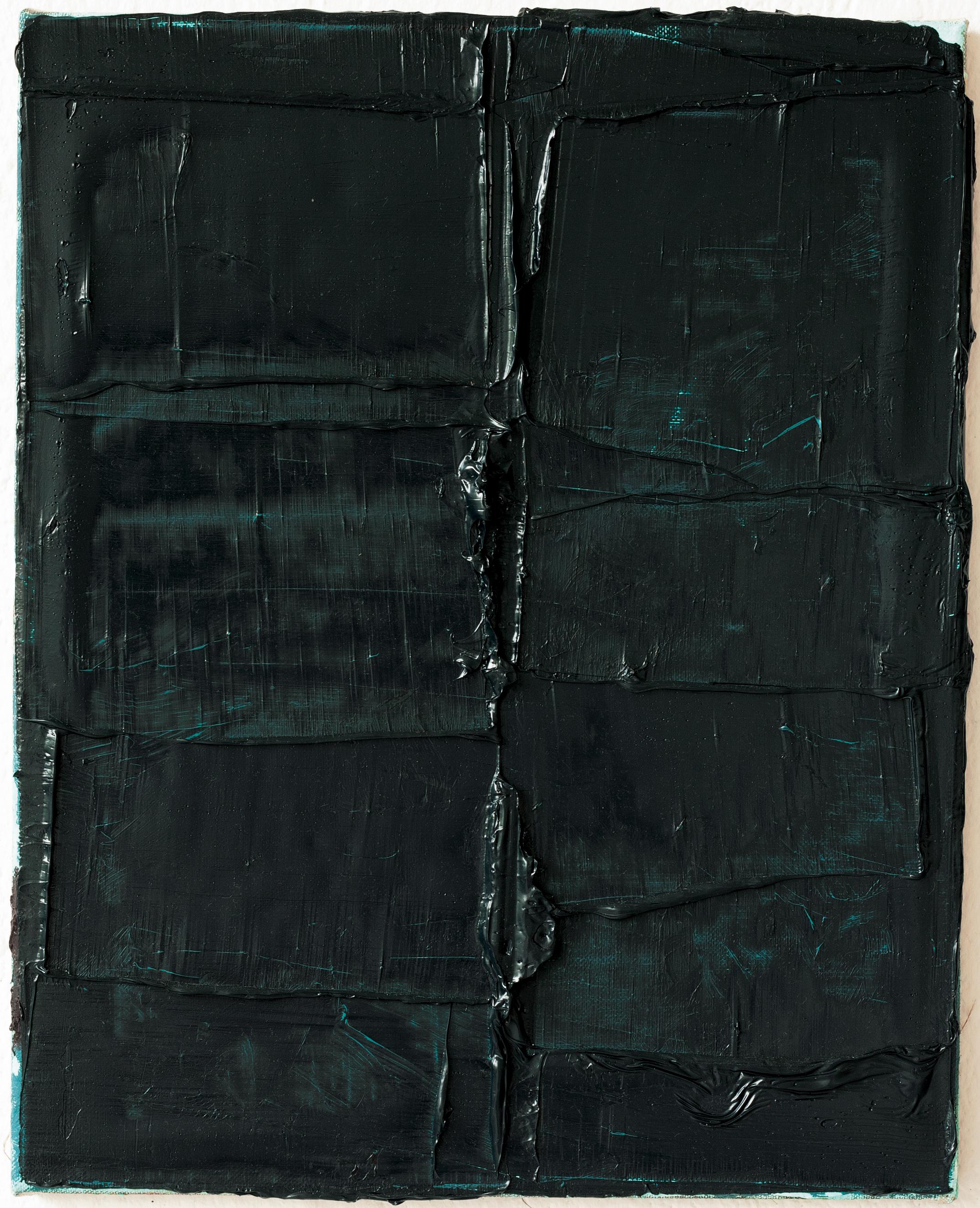 Felix Becker_untitled (Vertebra 15)_2019_oil on linen_50 x 40 cm