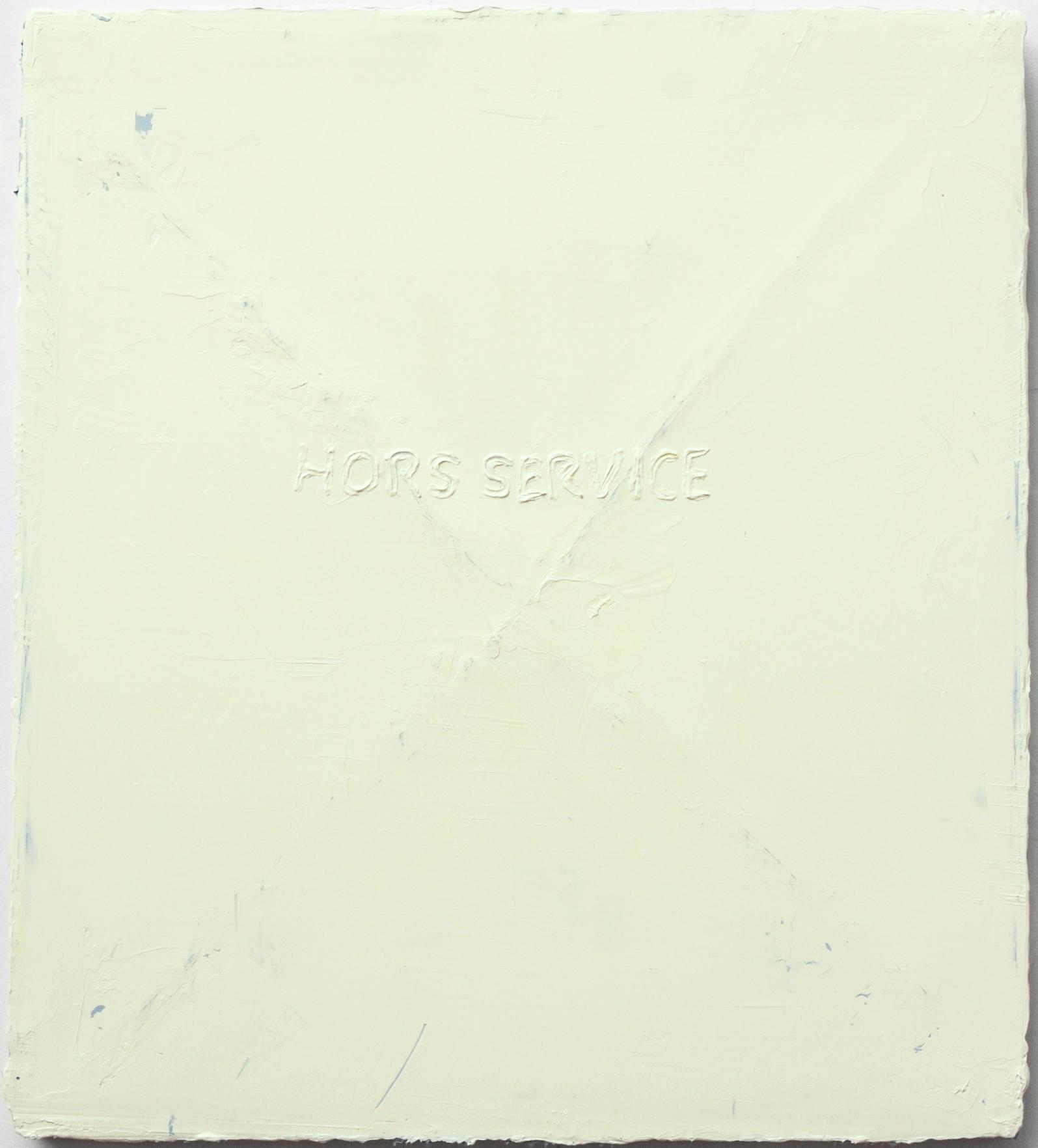 Felix Becker_Untitled (X : Hors Service)_2020_Oil on canvas_90 x 80 cm_web